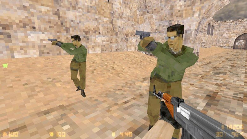 Counter Strike 1.6 для слабых ПК