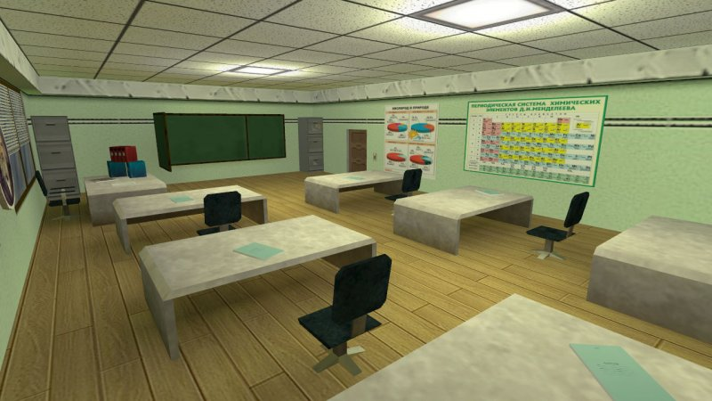 Карта «maniac_school_full» для CS 1.6
