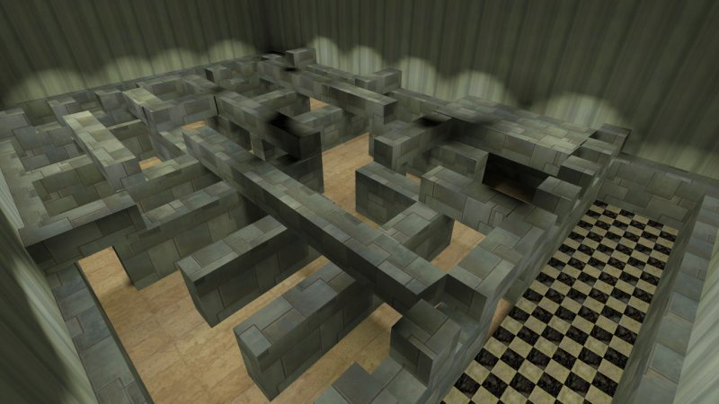 Карта «cs_labyrinth» для CS 1.6