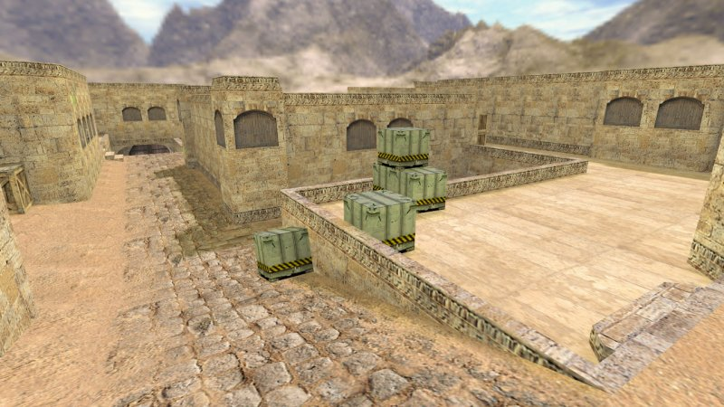 Карта «de_dust2_2x2» для CS 1.6