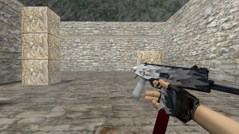 Модель MP9 «Белый клык» для CS 1.6
